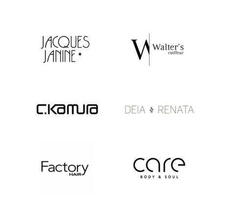 Jacques Janine, Walter's Coiffeur, C.Kamura, Deia e Renata, Factory Hair e Care Body & Soul