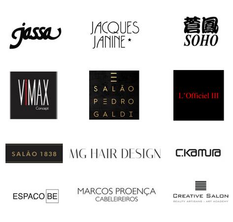 Jassa, Jacques Janine, Soho, Vimax Concept, Salão Pedro Galdi, L'Officiel III, Salão 1838, MG Hair Design, CKamura, Espaço Be, Marcos proença Cabeleirerios e Creative Salon