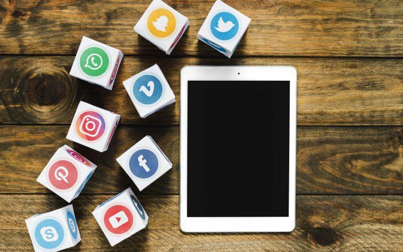 redes sociais para salão de beleza